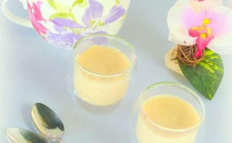 Petites crèmes au thé fleuri