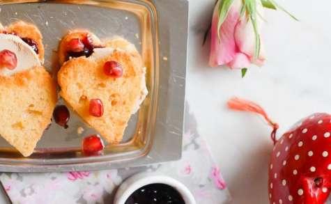 Coeur de quatre quarts au foie gras