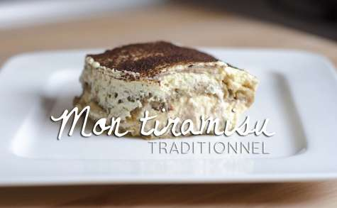 Recette du Tiramisu traditionnel de ma grand mère !