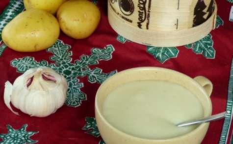 Crème de pommes de terres au Mont d'Or