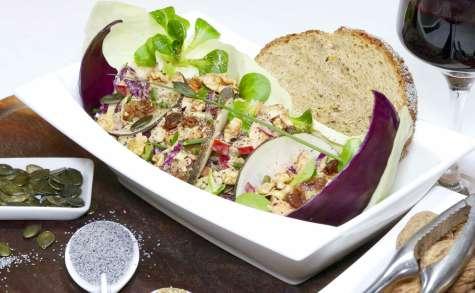 Ma salade gourmande et croquante «mâcher plus»