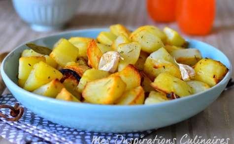 Recette Pommes de terre au four roties