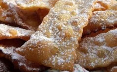 Bugnes croustillantes, pour Mardi-Gras