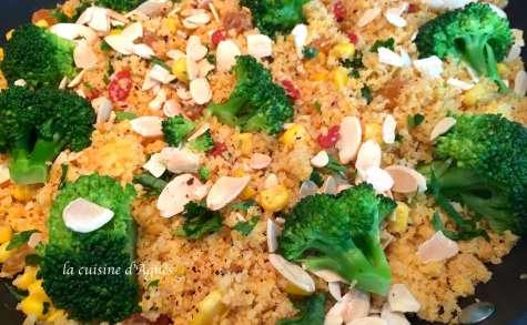 couscous de maïs au sumac