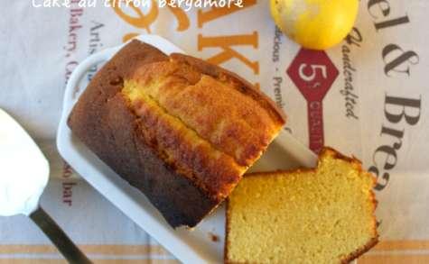 Cake au citron bergamote façon Pierre Hermé