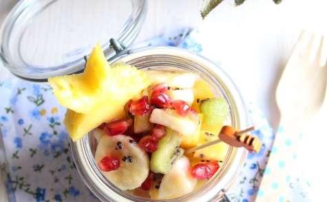 Salade de fruits frais au sirop de citron