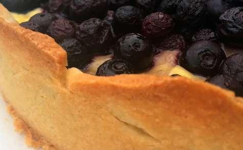 Tarte gourmande aux myrtilles