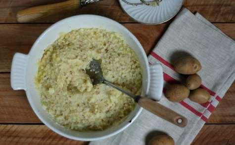 Purée de panais à la moutarde