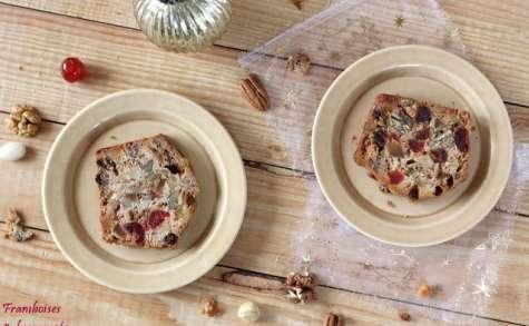 Cake de Noel aux fruits secs et confits