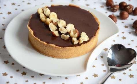 Tarte gianduja au chocolat