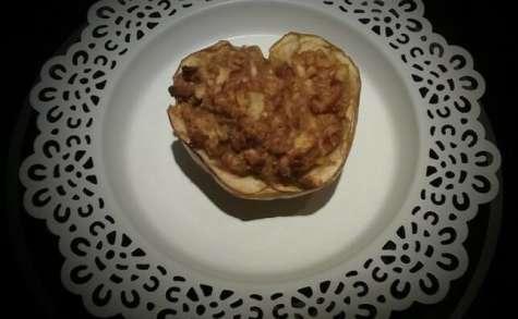 Pieczone jabłko Pomme au four