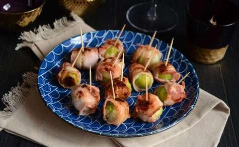 Bonbons de choux de Bruxelles au bacon