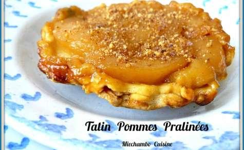 Tartelettes tatin aux pommes pralinées