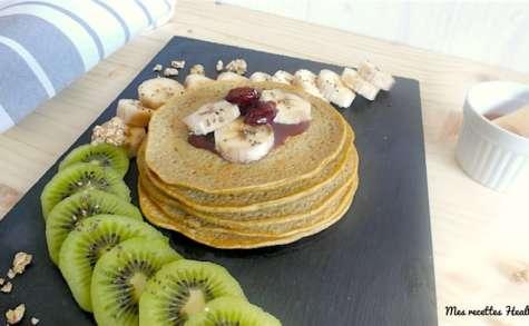 Pancake moelleux à la purée d'arachide