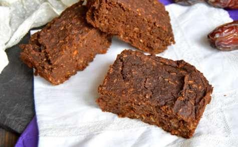 Brownie njutning caroube et coco