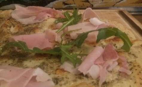 Pizza blanche