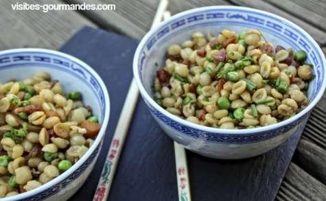 Cœur de blé comme un riz cantonnais