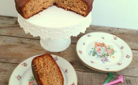 Gâteau à la crème de marrons et aux noix