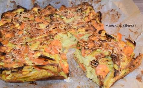 Gâteau invisible carotte navet