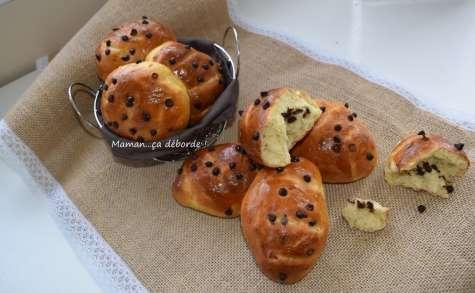 Petits pains au lait au sirop d'érable