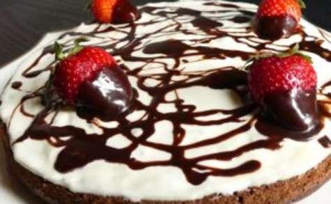 Gâteau black & white