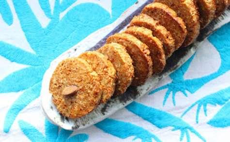 Biscuits mexicains aux amandes pralinées