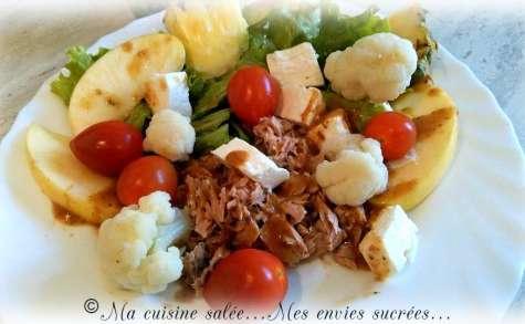 Ma salade composée du jour