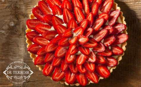 Ma Tarte aux fraises gourmande