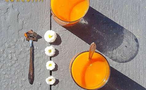Smoothie carotte mangue curcuma