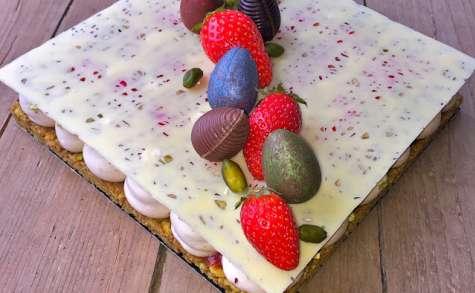 Fantastik de Pâques fraises, pistaches