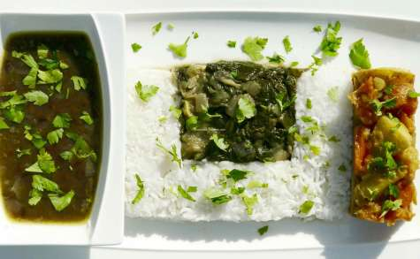 recettes de cuisine népalaise par bouchées doubles : dal bhat