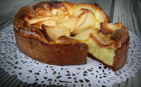 Tartelettes aux pommes et mascarpone