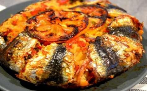 Plat de sardine Mechwi à la Chermoula au four