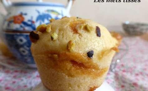 Muffins à la fève tonka et au caramel