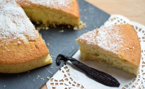 Gâteau au lait de coco et vanille pompona ultra-moelleux