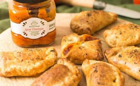 Empanadas de poivrons Ajvar et haché végétal Fleury Michon