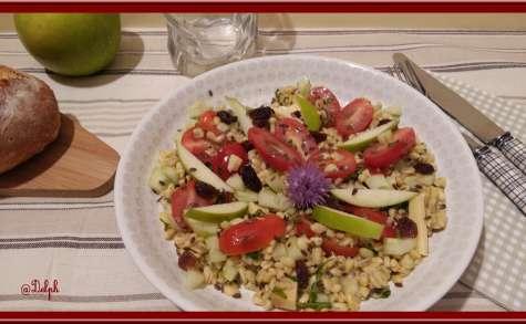 Salade de blé sucré-salé
