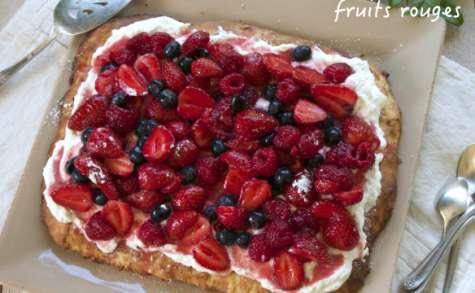Shortcake au lait ribot et fruits rouges
