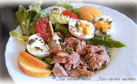 Salade composée œufs & thon