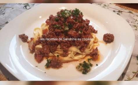 Linguine sauce bolognaise recette facile et rapide