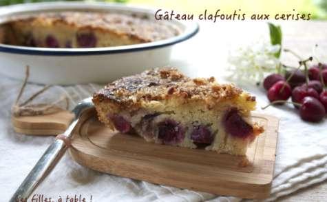 Gâteau clafoutis aux cerises