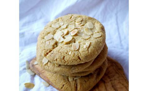 Cookies tout amande au chocolat blanc