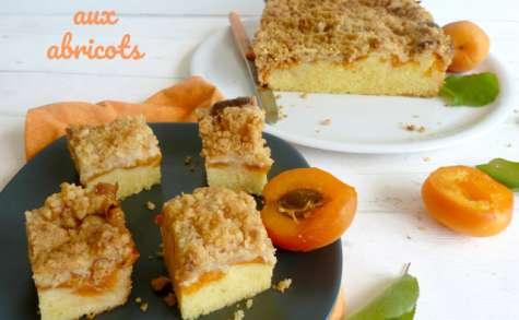 Crumb cake aux abricots