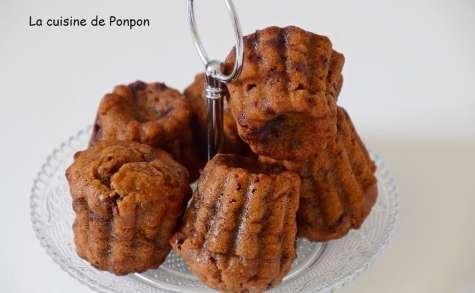 Muffin à la banane et aux pépites de chocolat - La cuisine de Ponpon: rapide et facile!