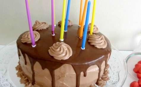 Layer cake au nutella