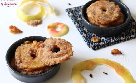 Apfelkiechle ou beignets aux pommes à l'alsacienne