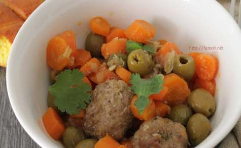 Boulettes de bœuf carottes