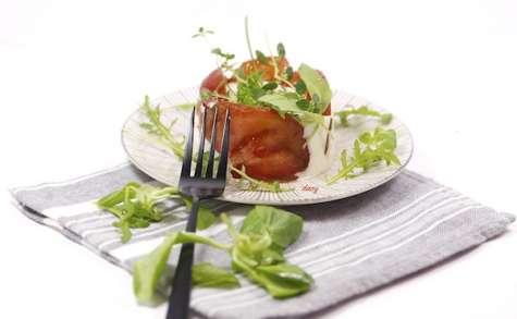 Charlotte de tomate mozza