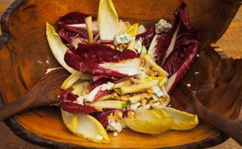 Salade d'Endives - Noix, Pomme et Roquefort