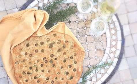 A la mode Italienne: Focaccia au romarin